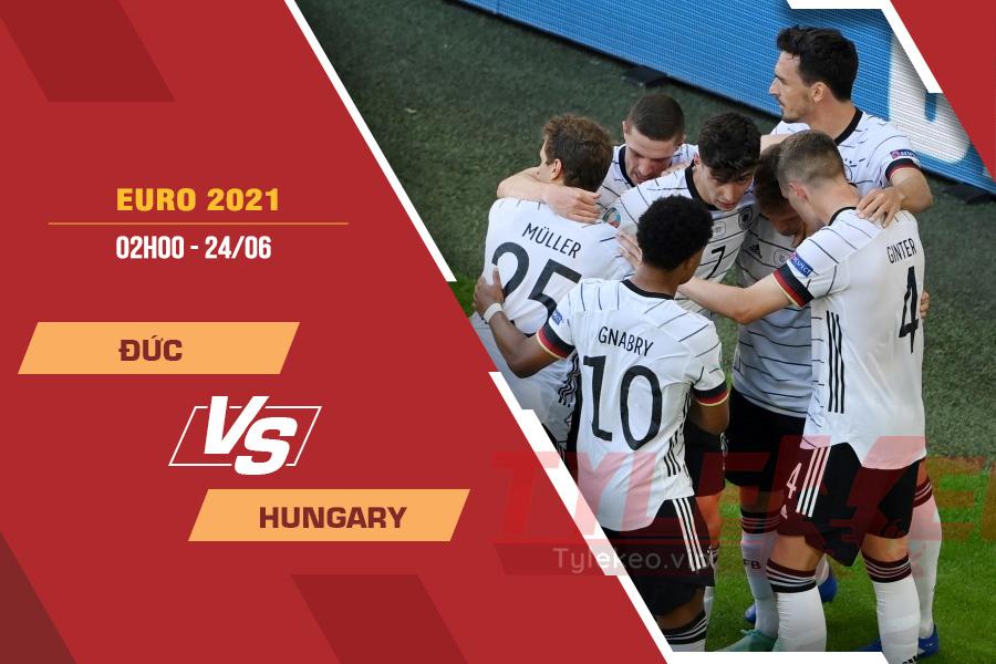 Soi kèo Đức vs Hungary, 02h00 ngày 24/6 – VCK Euro 2021
