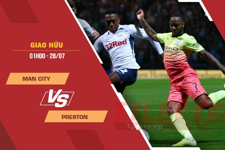 Tỷ lệ kèo nhà cái Man City vs Preston, 01h00 ngày 28/7 – Giao Hữu