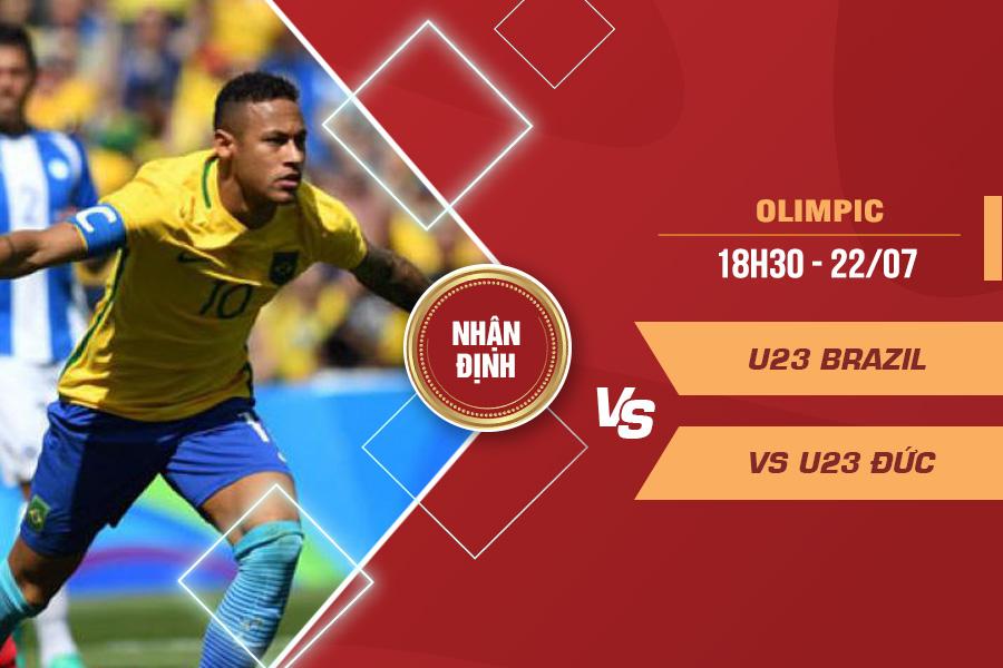 Nhận định U23 Brazil vs U23 Đức, 18h30 ngày 22/7 – Bóng đá Nam Olympics 2021