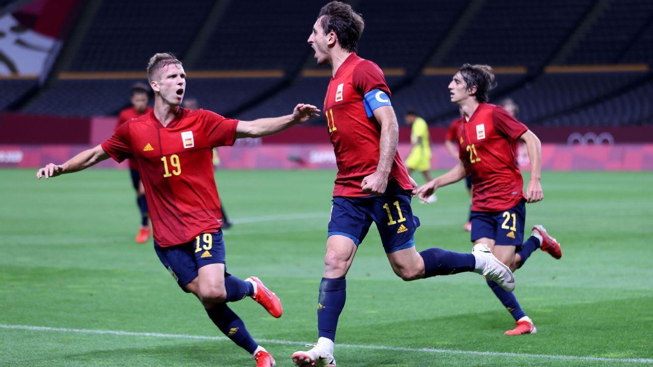 Tỷ lệ kèo nhà cái U23 Tây Ban Nha vs U23 Bờ Biển Ngà, 15h00 ngày 31/7, Olympic