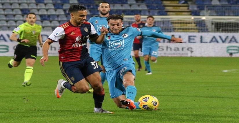 Soi kèo Cagliari vs Spezia, 23h30 ngày 23/8, Serie A