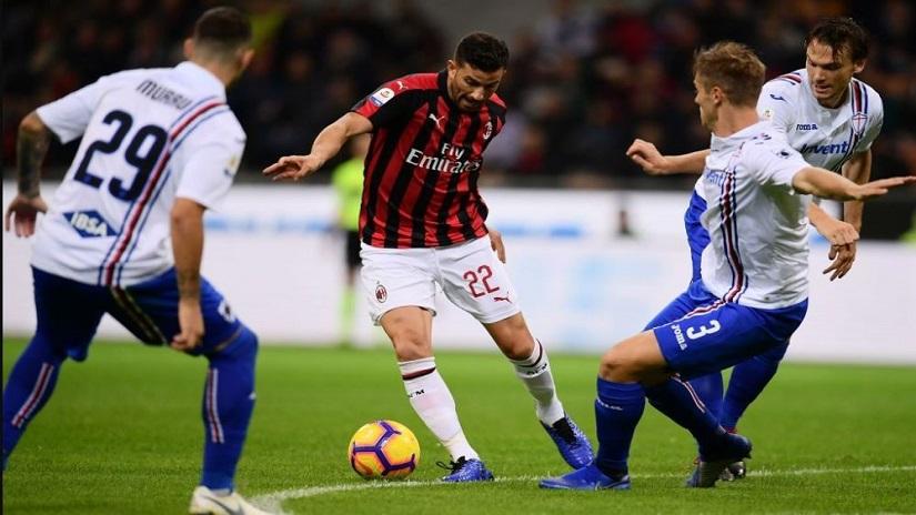 Soi kèo Sampdoria vs AC Milan, 01h45 ngày 24/8 - VĐQG Ý