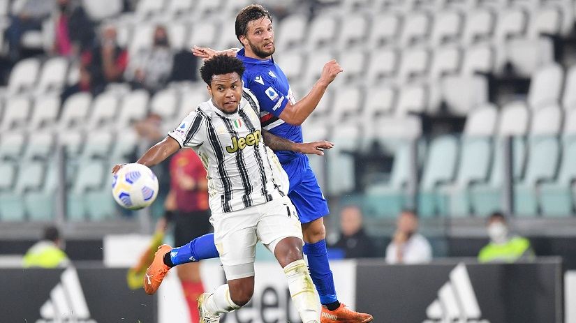 Soi kèo Juventus vs Sampdoria, 17h30 ngày 26/9, Serie A