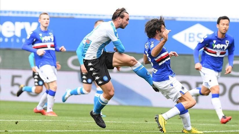 Soi kèo Sampdoria vs Napoli, 23h30 ngày 23/9, Serie A