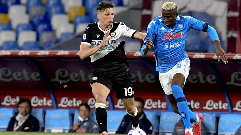 Soi kèo Udinese vs Napoli, 01h45 ngày 21/9, Serie A