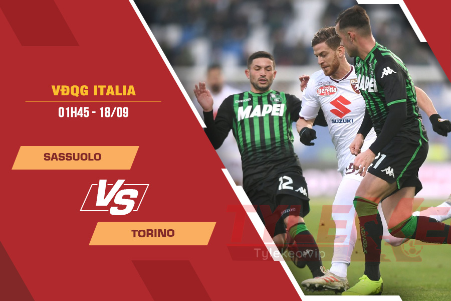 Soi kèo Sassuolo vs Torino, 01h45 ngày 18/9 – VĐQG Ý