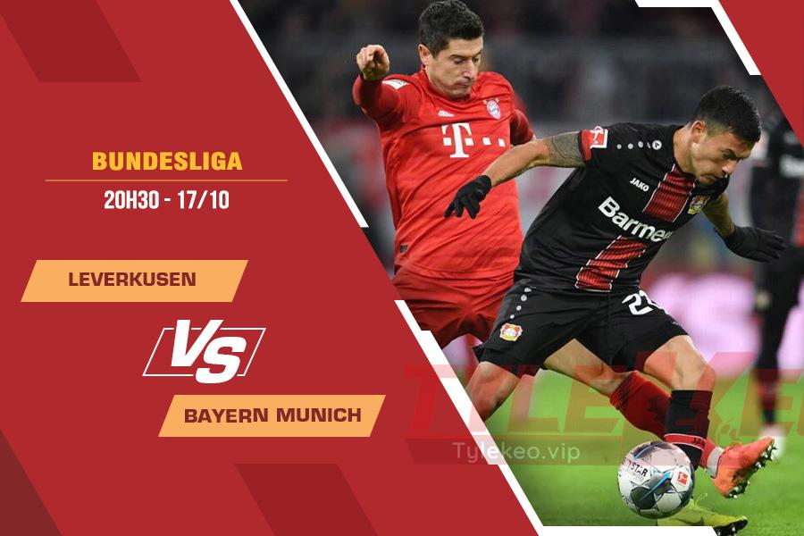 Soi kèo Leverkusen vs Bayern Munich, 20h30 ngày 17/10 – Bundesliga