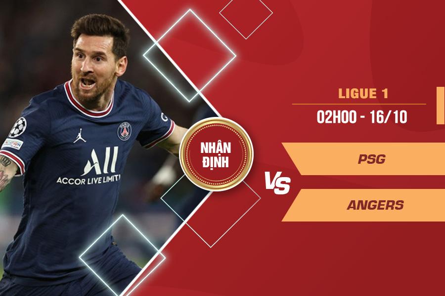 Nhận định PSG vs Angers, 02h00 ngày 16/10 – VĐQG Pháp