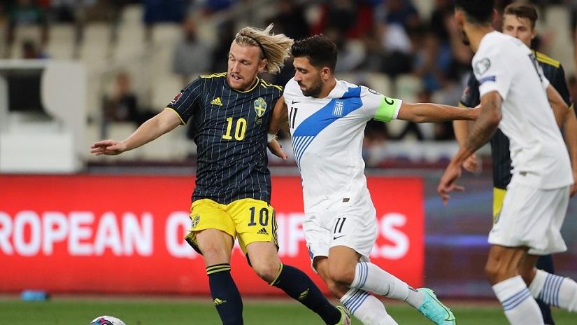 Soi kèo Thụy Điển vs Hy Lạp, 01h45 ngày 13/10, VL World Cup 2022